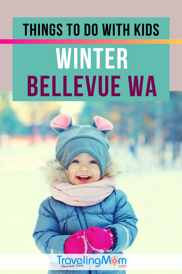 The charming city of Bellevue Washington has lots to offer families. Find out what to do with kids in this Pacific Northwest area during the winter, including advice on where to stay and what to eat. #TMOM #Washington #Bellevue #PacificNW #Travel #WinterTravel #TravelwithKid #FamilyTravel