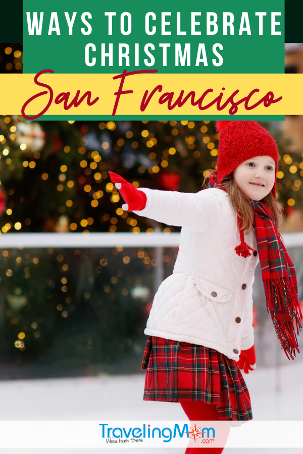 Christmas in San Francisco is a special time of the year. Find out where to see holiday lights, go ice skating and indulge in sweet treats.