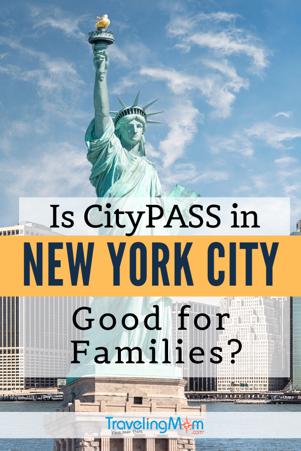CityPASS is a budget-friendly way to see many of the highlight attractions in New York City, but is it good for families? Get the tips on what works and what doesn't when using CityPASS in NYC. #TMOM #NYC #NewYork #CityPASS #TravelwithKids #FamilyTravel
