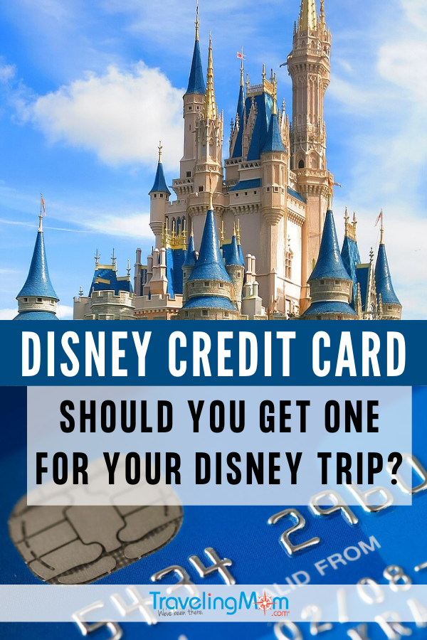 Disney credit card Pinterest image