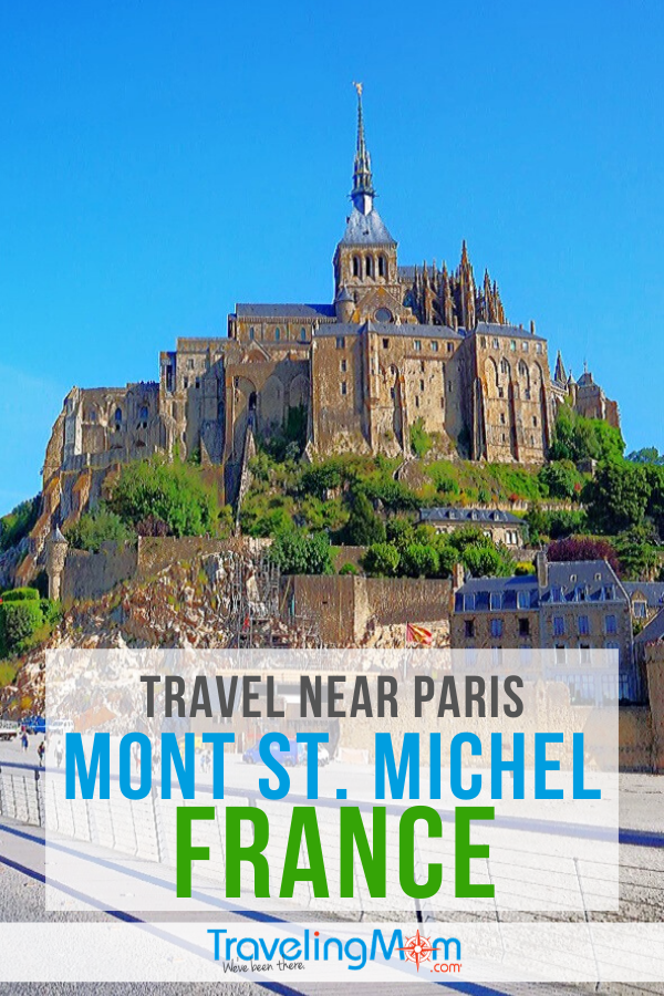 Plan an amazing side trip outside of Paris with a visit to Mont St. Michel, a medieval walled city UNESCO world heritage site in northern France. Get the tips on how to get there, where to stay and what to see in this breathtaking location. #TMOM #France #Paris #MontStMichel #UNESCO #Europe #Travel