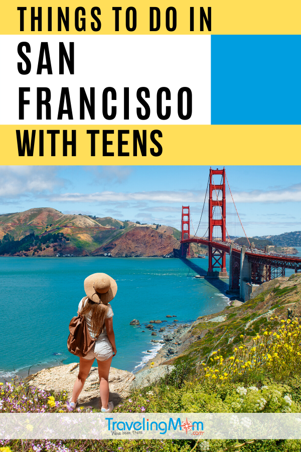 Take on San Francisco with teenagers at these best locations in and around the city. Teens will love exploring Alcatraz and other San Francisco itineraries for the ultimate California fun. #TMOM #SanFrancisco #Teens #TravelwithTeens #Teenagers #TravelwithKids #FamilyTravel #California