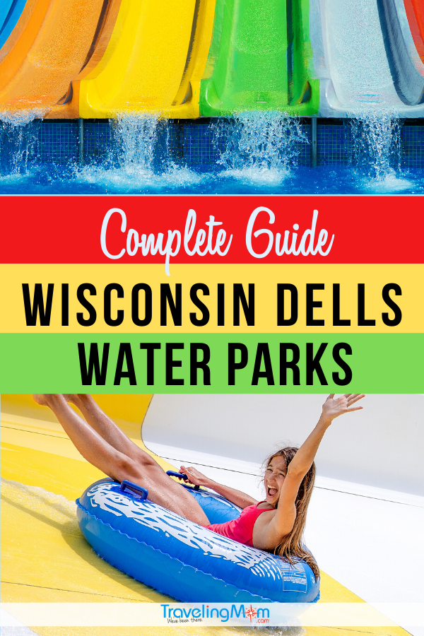 Looking for warm weather fun, these water park destinations in Wisconsin Dells are perfect for families! Get the tips on all the area waterparks in this complete guide, with advice for parents on which resort is best with kids. #TMOM #Wisconsin #WaterPark #WisconsinDells #SummerTravel #TravelwithKids #FamilyTravel