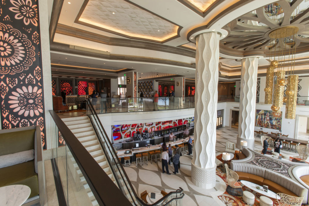 The new Gran Destino Tower Lobby