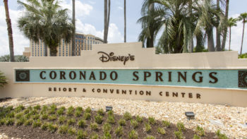 Disney's Coronado Springs Resort Sign