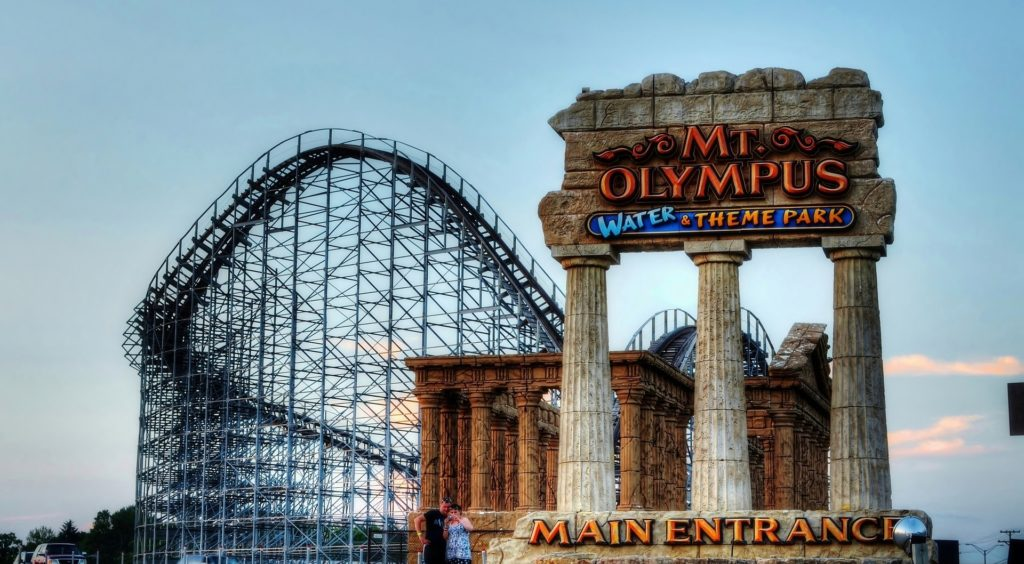 Mt. Olympus Water & Theme Park Wisconsin Dells waterpark