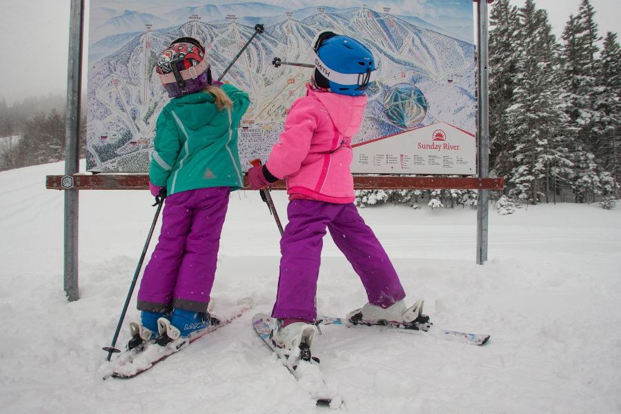 Sunday River Resort is one of the best new england ski resorts for families.