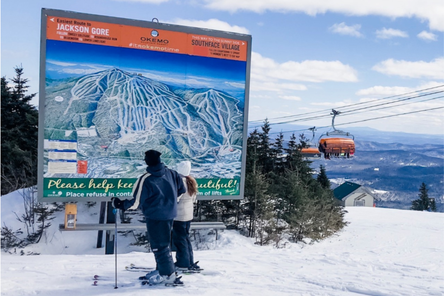 Okemo Resort is one of the best new england ski resorts for families.