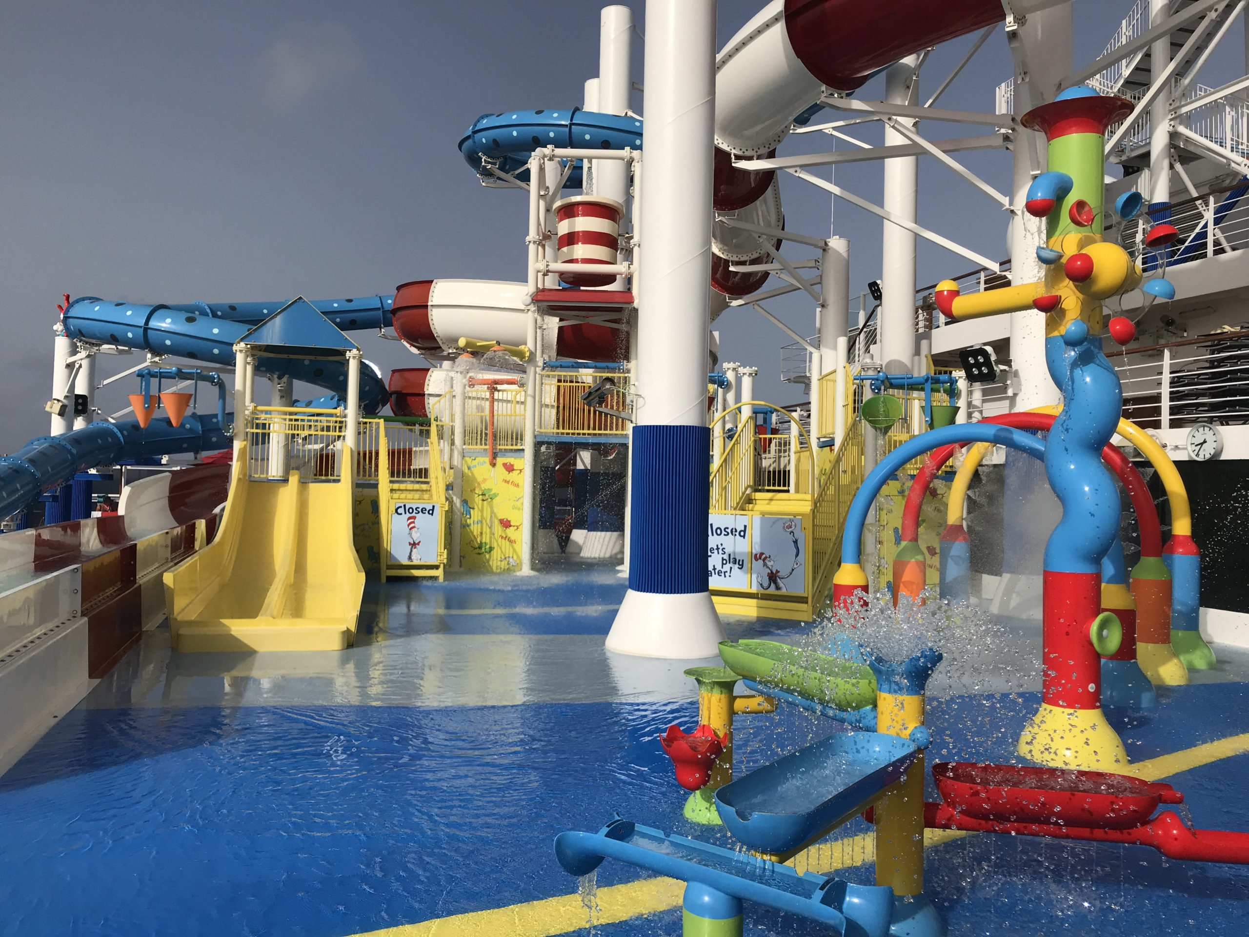 Seuss pool? Yes please! The best Caribbean cruise pays attention to theming.