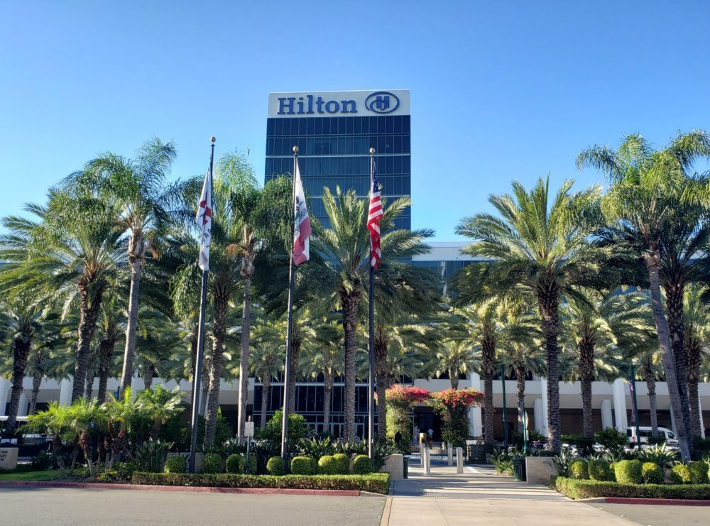 Hilton Anaheim is one of the best Disneyland hotels nearby.