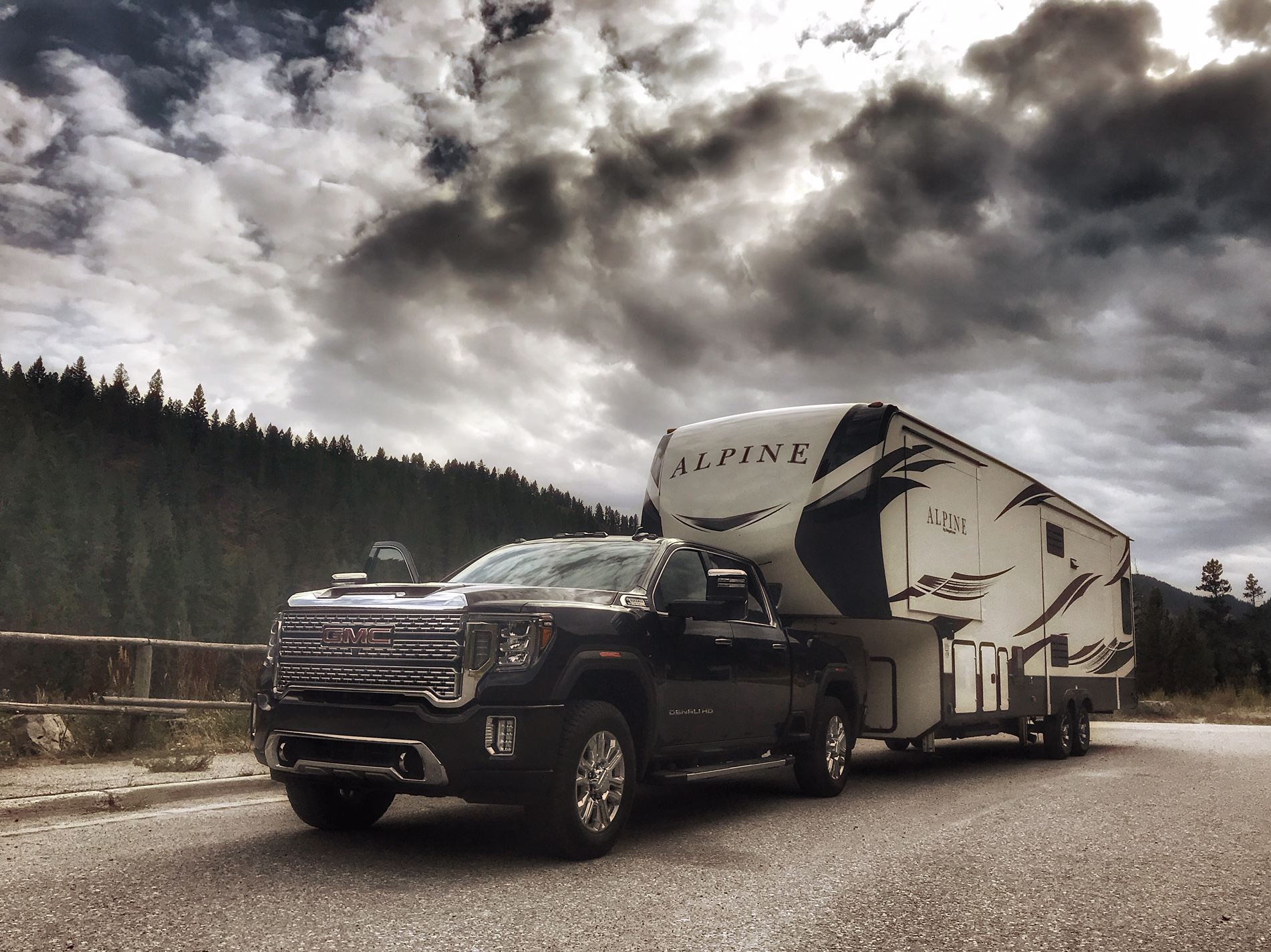 The GMC Sierra HD is one of the best vehicles for camping.