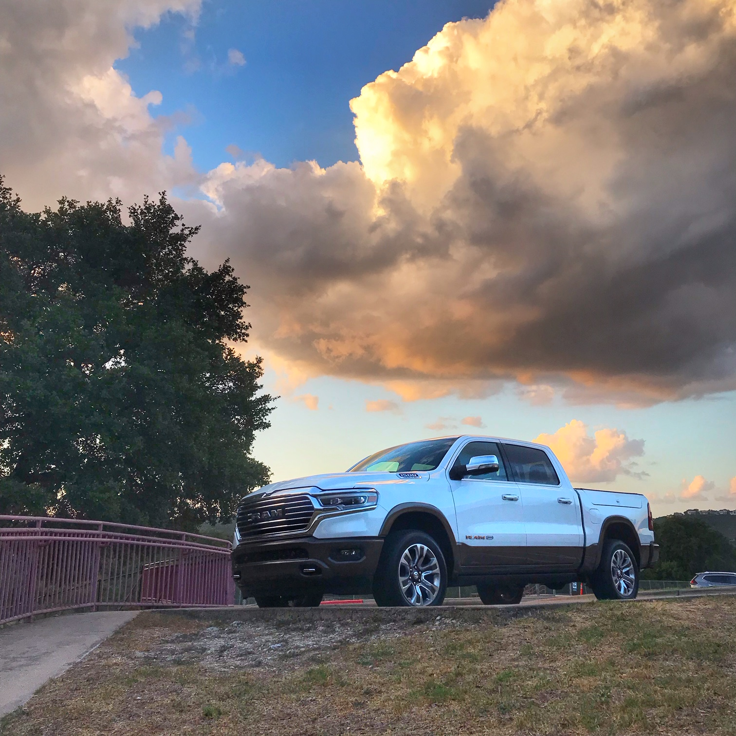 RAM's 1500 is one of the best vehicles for camping.