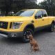 The Nissan Titan Pro-4X is one of the best vehicles for camping.