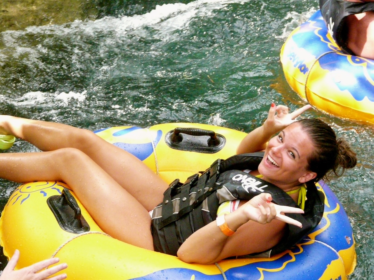 After a great Caribbean cruise - or during! - river tubing in Jamaica