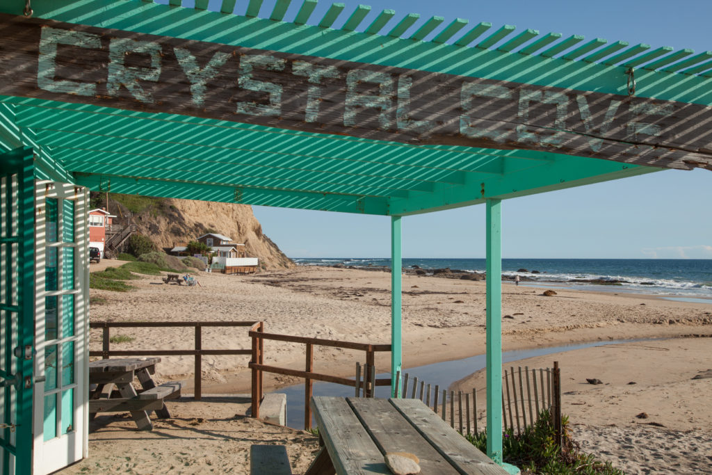 beat California beaches and Crystal Cove in Orange County