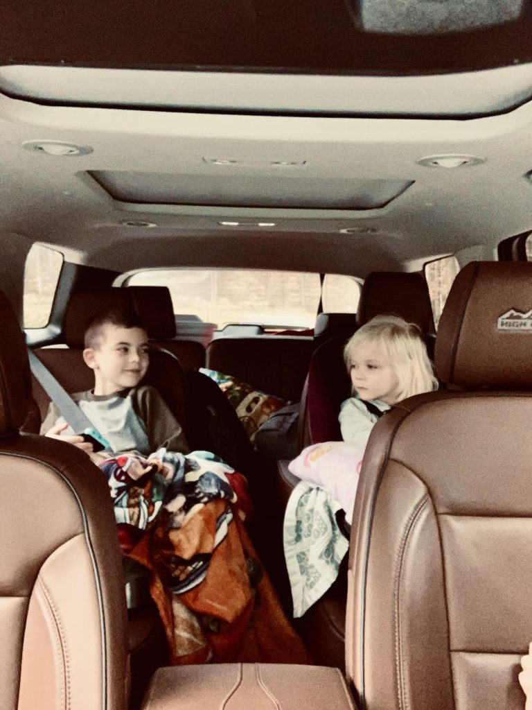 brother-and-sister-in-chevy-traverse