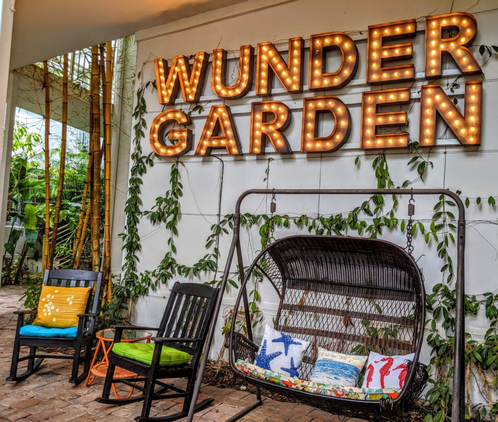Wunder Garden at Circa 39 in Miami Beach.