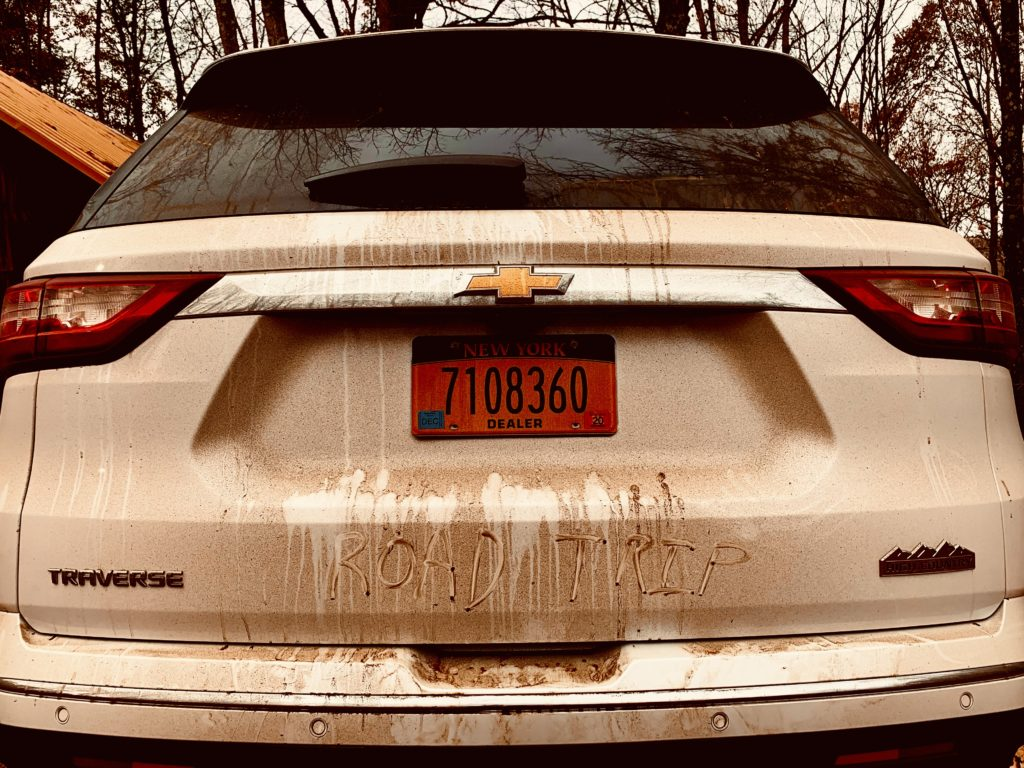 dirty-chevy-traverse