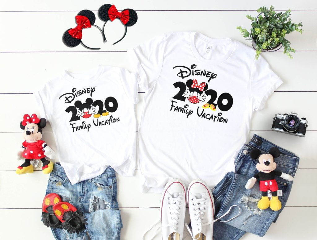 2020 Disney vacation family vacation shirts