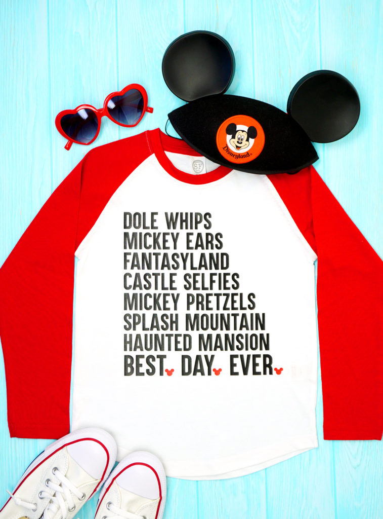 Best day ever Disney vacation shirts