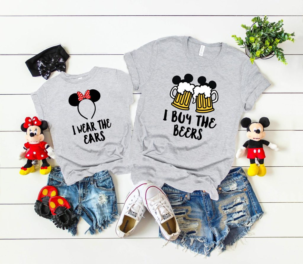 Family vacation Disney shirts for dad