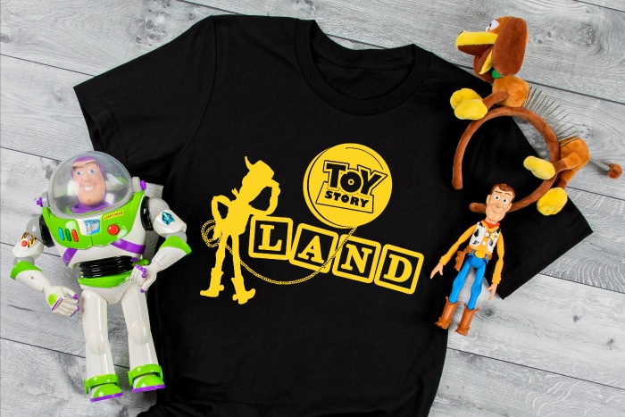 Toy Story family vacation Disney shirts