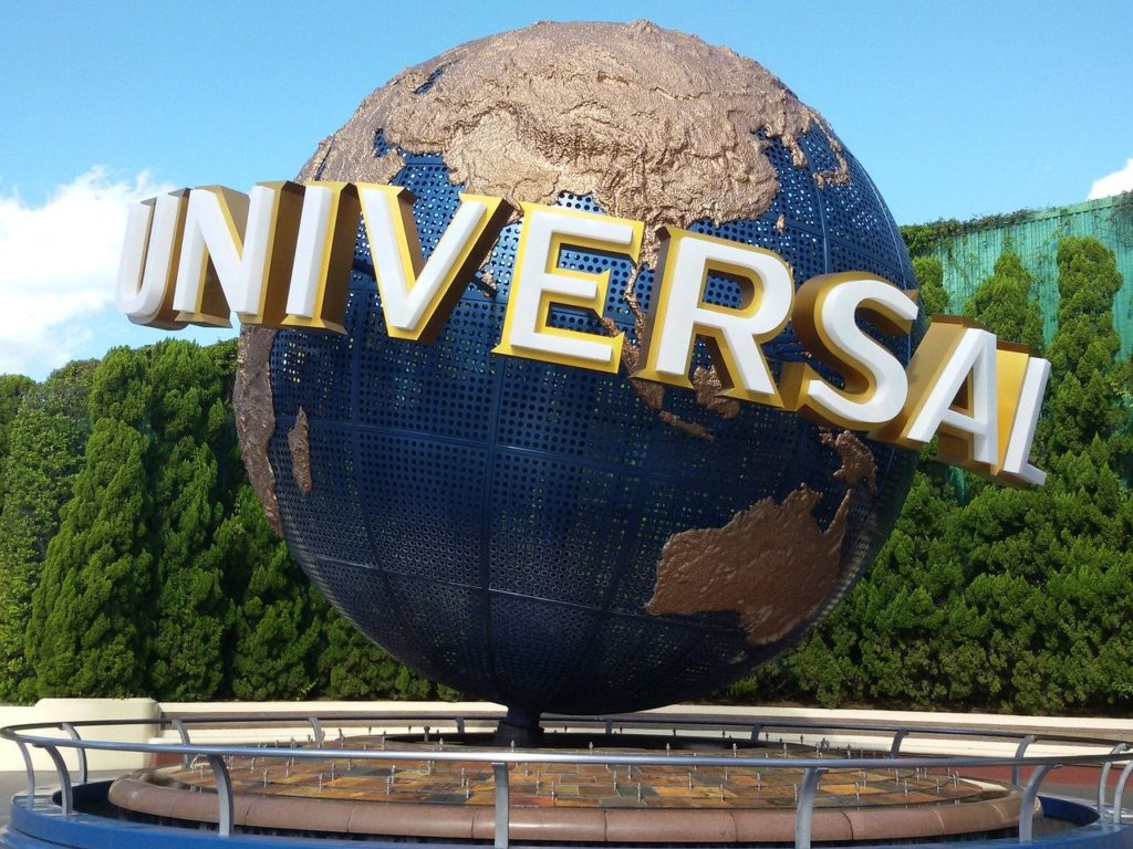 Picture of the Universal sign