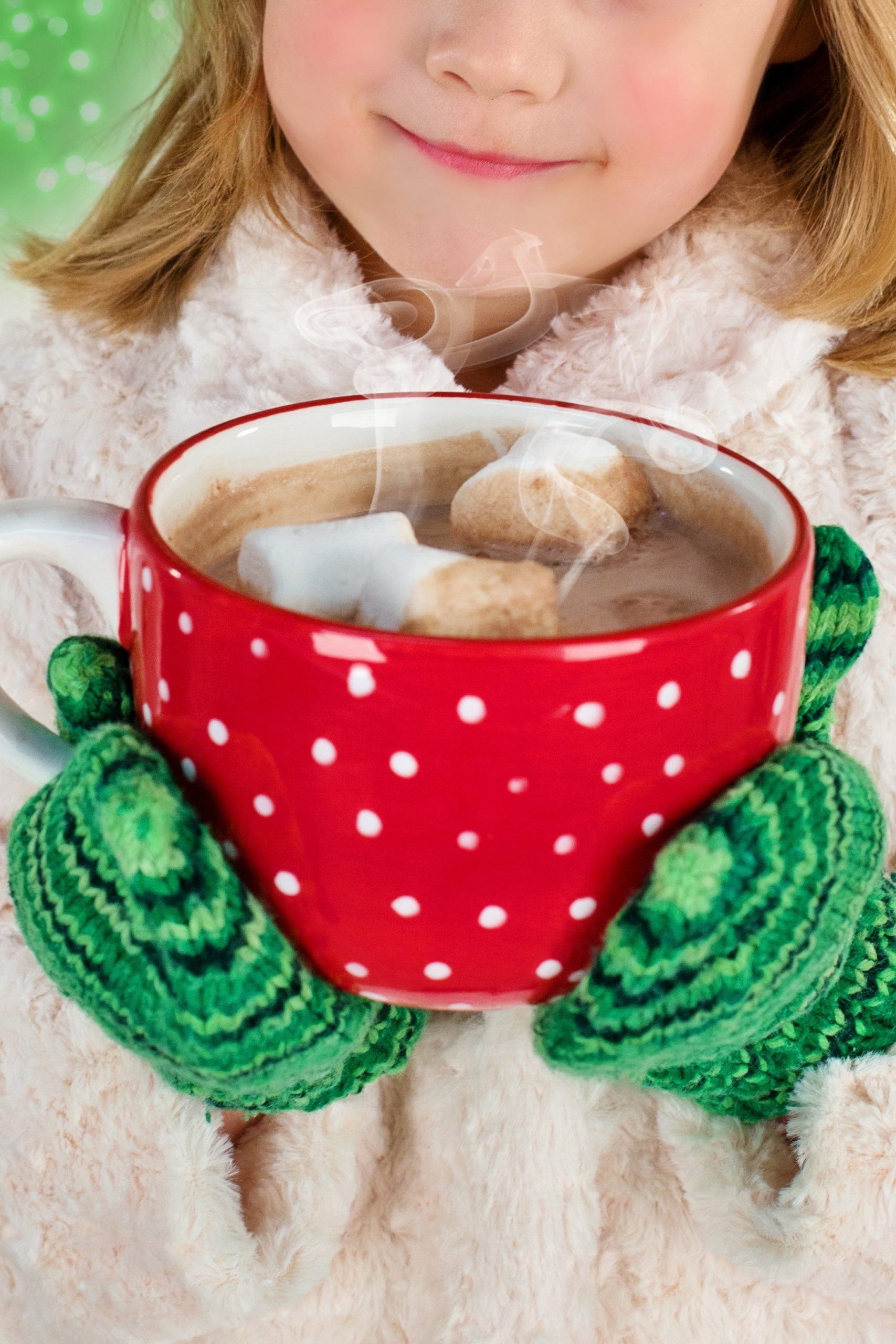 A cup of hot chocolate warms up every toddler and their family in the winter. Carry a thermos for a treat. Photo: Pixabay