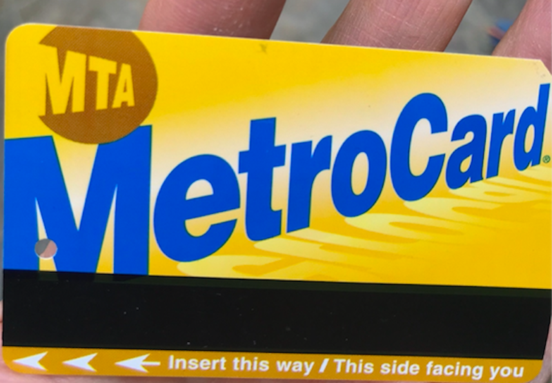 how to use the NYC subway: get a Metrocard