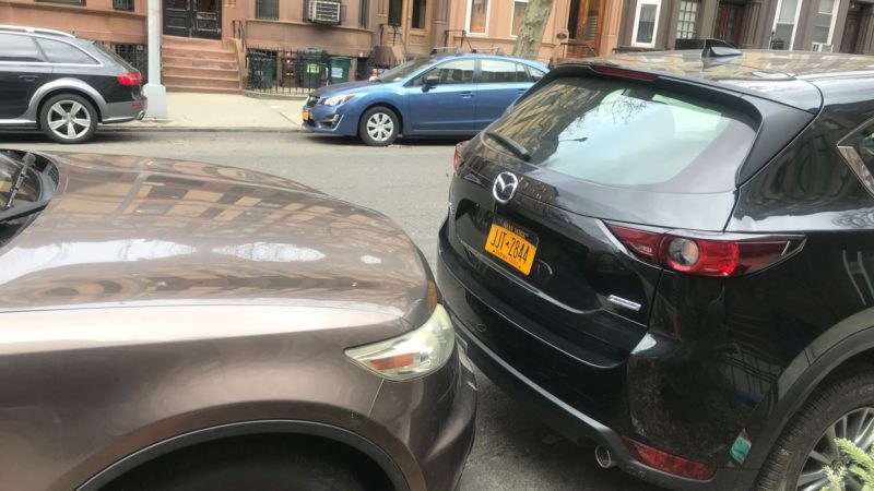 NYC parking- brush up on parallel parking skills
