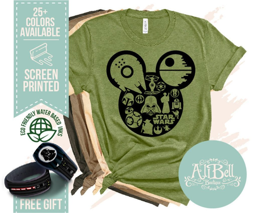 Star Wars themed Disney vacation shirts