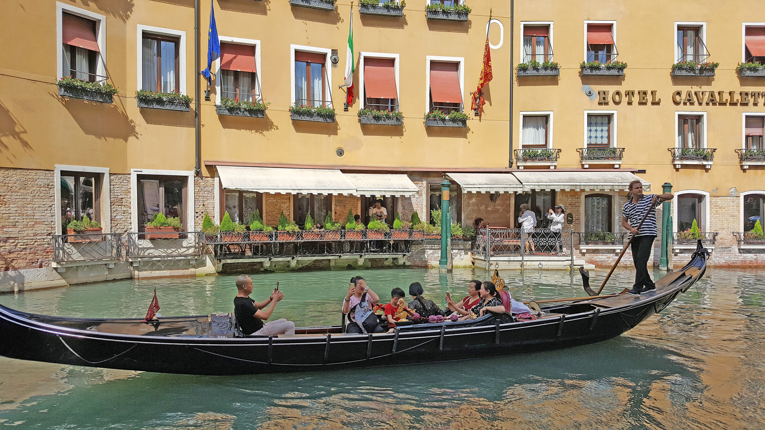 Gondola ride - don't forget to research the best way to exchange foreign currency.