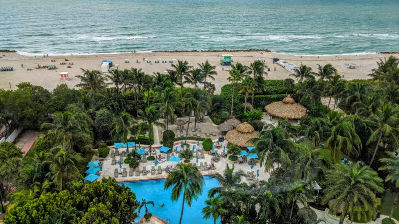 The Palms Hotel in Miami Beach, one of the best Florida resorts for families