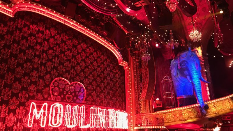 What to wear to a Broadway show like Moulin Rouge.