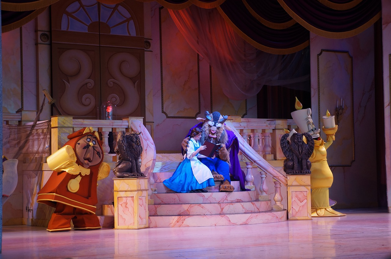 Another not-to-miss show at Disney's Hollywood Studios is the Beauty and the Beast.