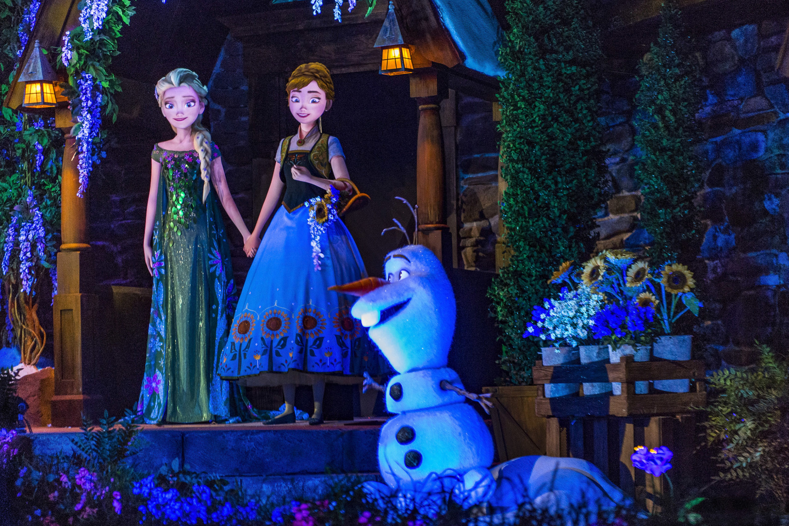Toddler-friendly Frozen Ever After at Epcot in Disney World