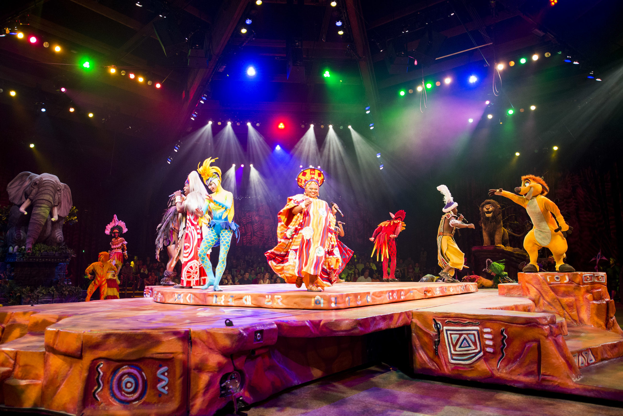 Lion King show at Disney's Animal Kingdom