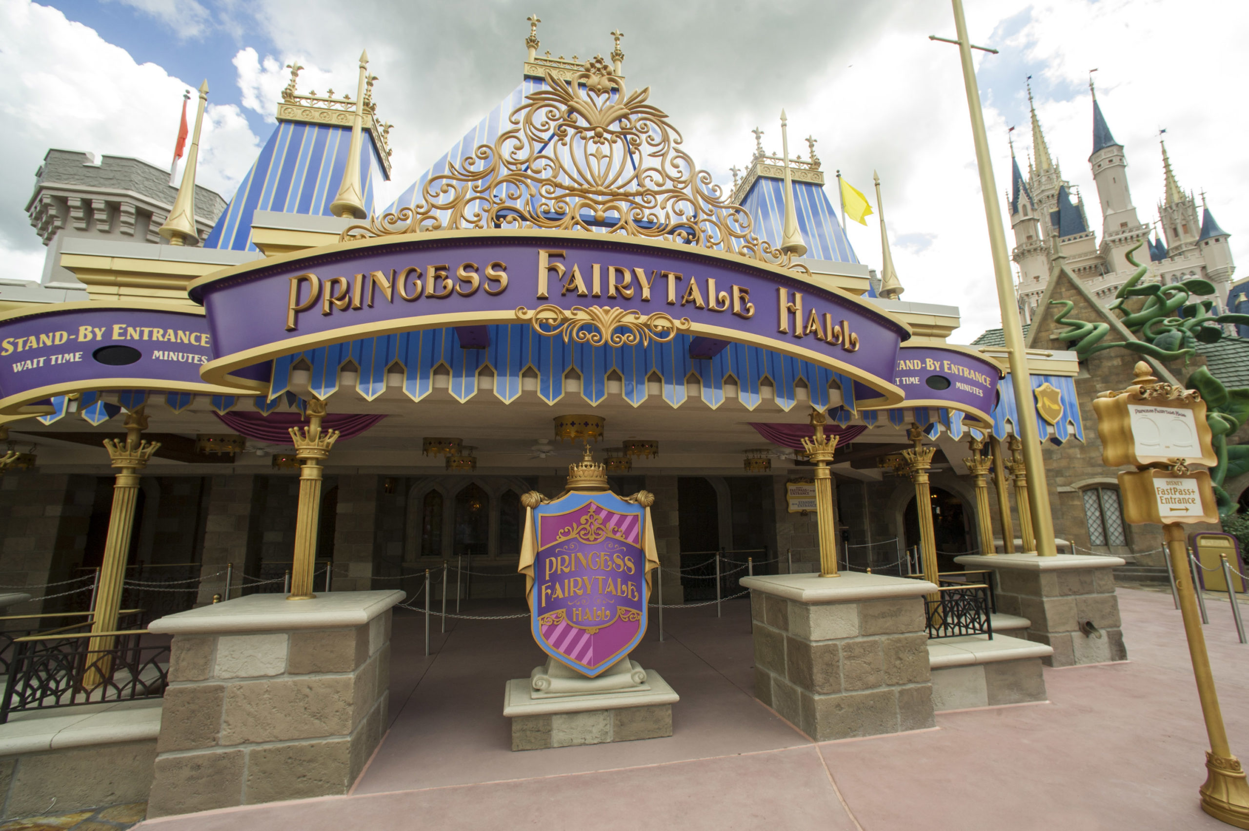 Princess Fairytale Hall in Disney's Magic Kingdom