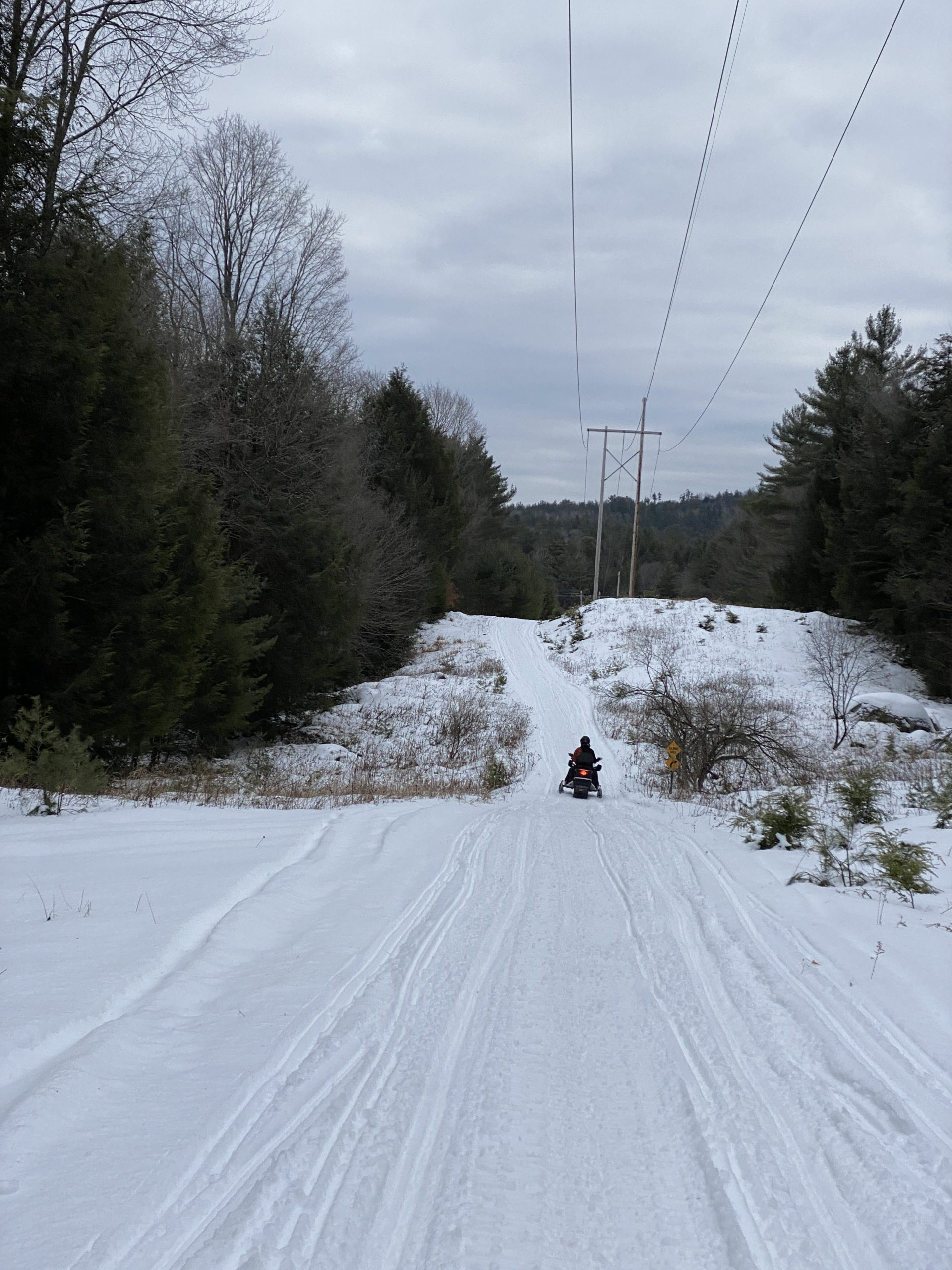 snowmobiling in lake George is a fun wintery thing to do