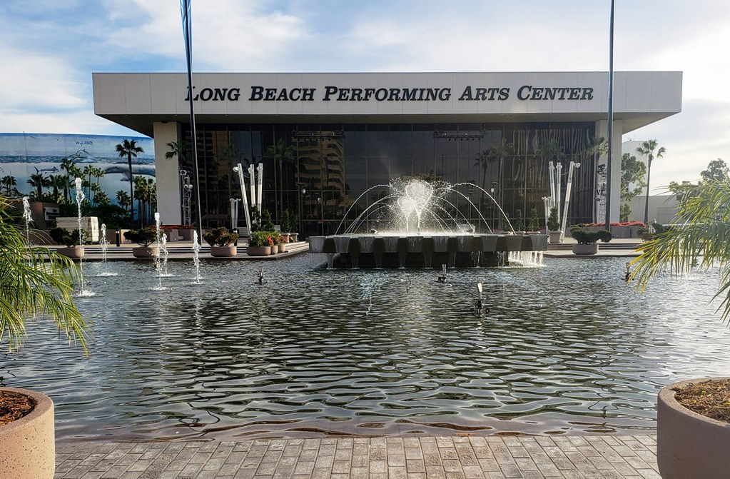 Exterior of Long Beach Performing Arts Center - TravelingMom