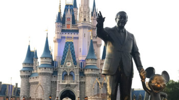 Partners statue at Walt Disney World's Magic Kingdom