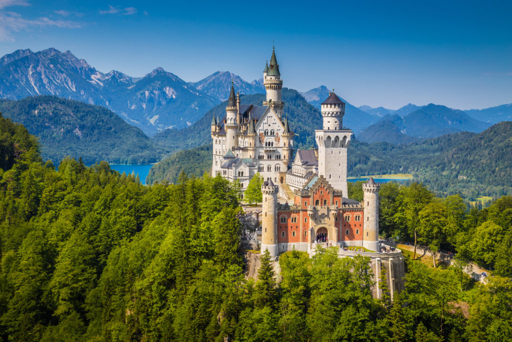 Neuschwanstein Castle, a model Disney location