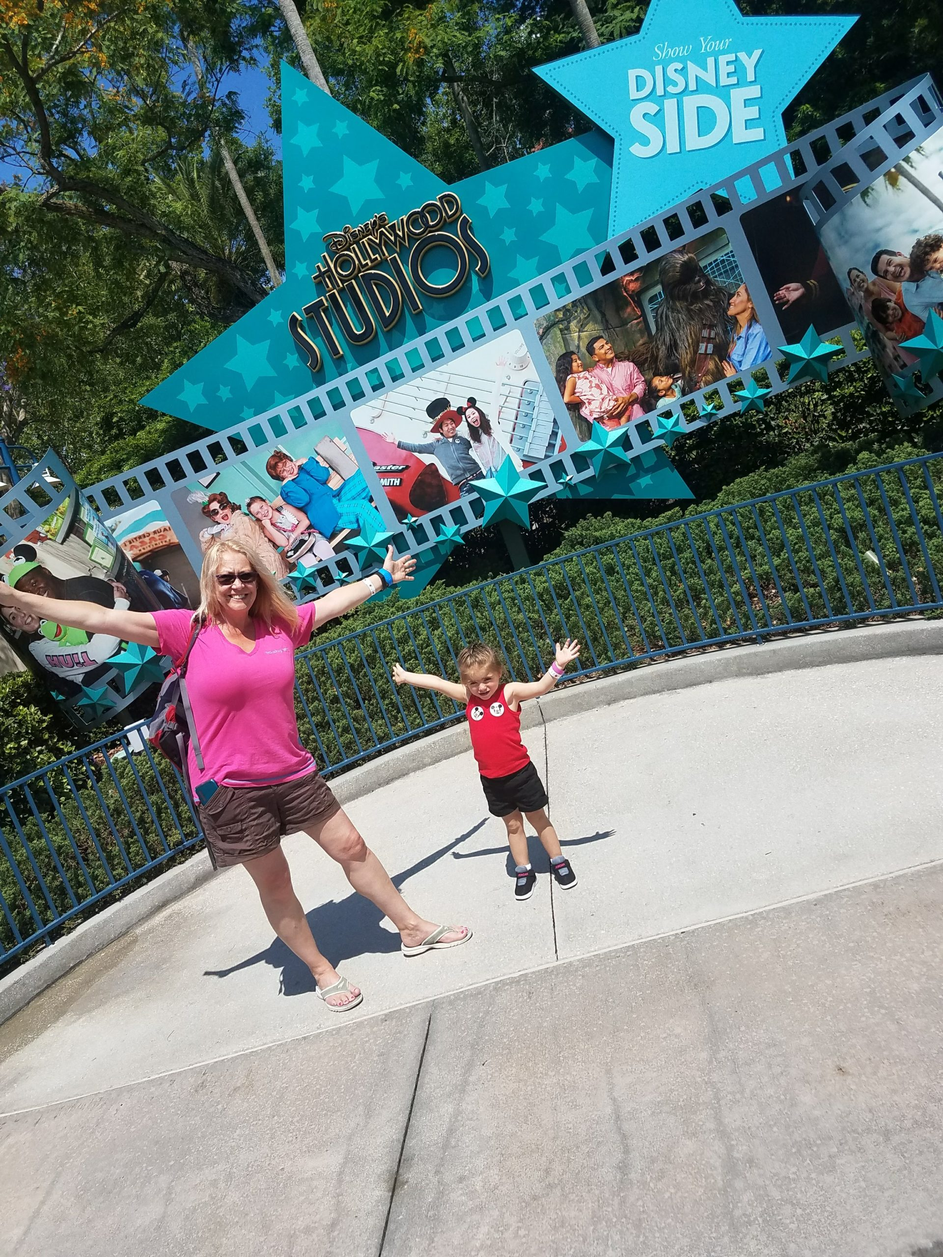 Strike a pose at Disney's Hollywood studios and get ready for these Disney toddler rides with grandparents