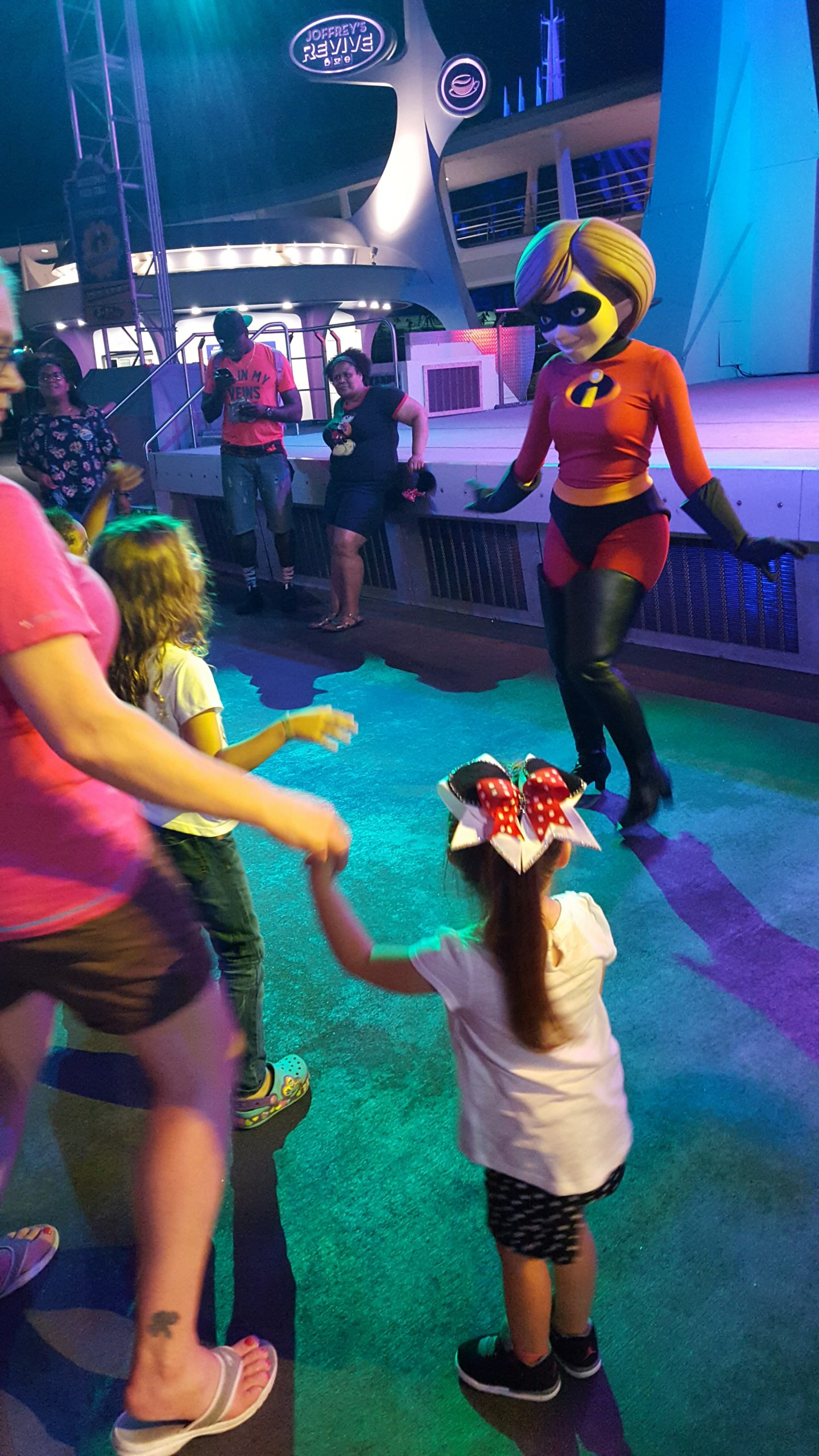Preschoolers (and grandparents!) love the Disney Junior dance-off at the Magic Kingdom.