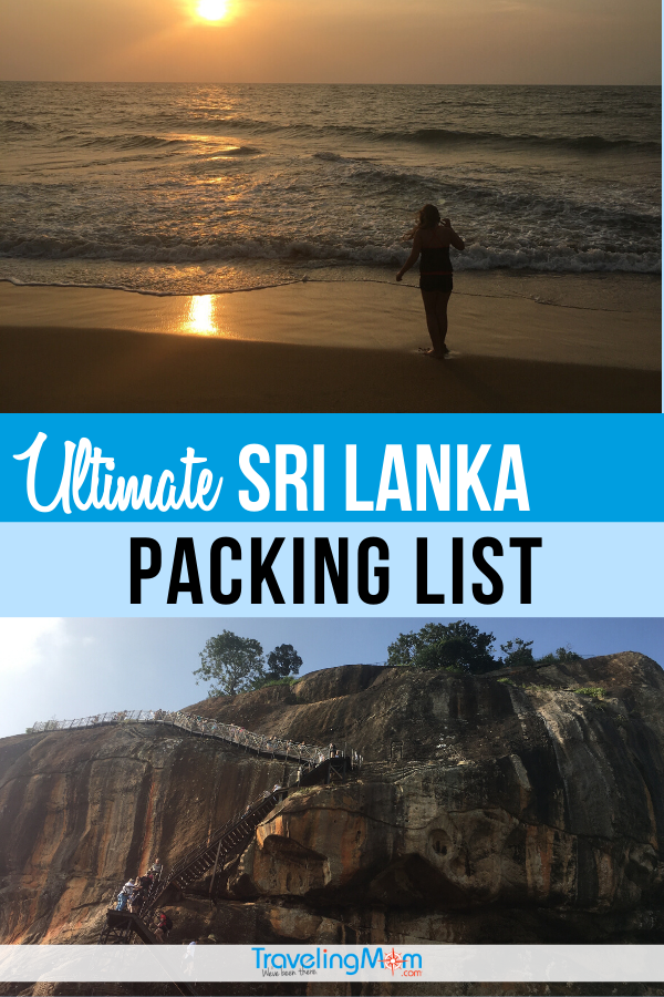 Use our Sri Lanka packing list before hitting the beach in Sri Lanka.