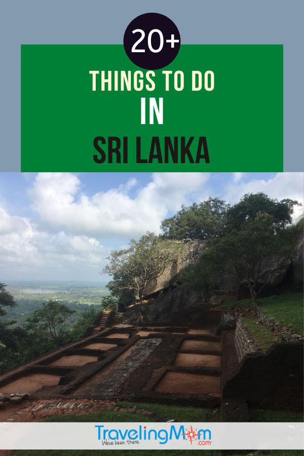 Sigiriya overlook Sri Lanka is one of the things to do in Sri Lanka