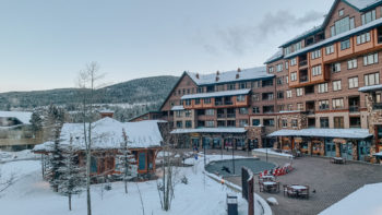 The Village area at Winter Park Resort in Colorado