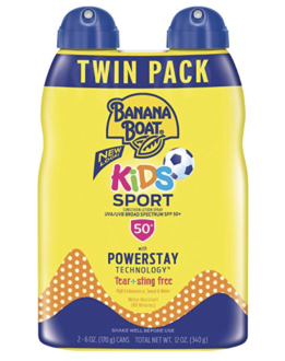 Banana Boat Sports Sunscreen