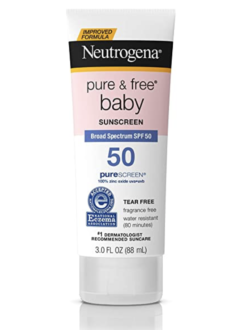 Neutrogena Baby sunscreen lotion