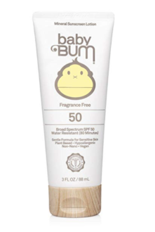 Baby bum sunscreen for babies